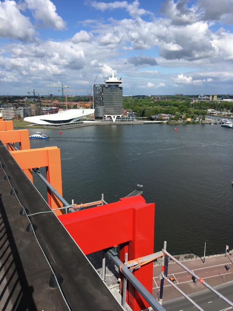 Havengebouw te Amsterdam