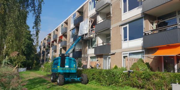Laatste fase renovatieproject Frieslandstraat 1-189 Amsterdam 1